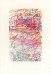 637 Ohne Titel (Datum unbekannt), 13x19 cm, Bunststift, Aquarell
