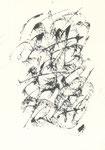 635 Alphabet Schwarzweiss (Datum unbekannt), 10x15 cm, Tuschefeder