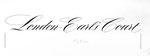 836 London Earls Court, Schriftzug (ca. 1960/62), 32x12 cm, Tuschefeder