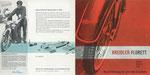 713 Kreidler Florett Prospekt, Titel und Rückseite (1963), 40x20 cm, Druck