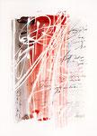 015 Senkrechte Streifen, negativ (1988), 25x55 cm, anthrazit, rot, blau