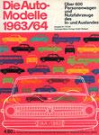 701 Katalog Automodelle 1963/64, 33x24 cm, Druck