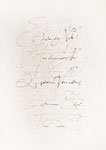 077 Es fliehen die Nebel... Gedicht (unbekannt), Maße derzeit nicht erfasst, Tusche, Federzeichnung