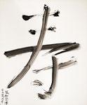 062 Große Chinesische Buchstaben (Datum unbekannt), 50x60 cm, schwarze Farbe
