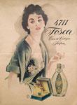 811 Tosca 4711 Werbeplakat, Schriftzug (Datum unbekannt), Druck