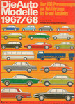 704 Katalog Automodelle 1967/68, 33x24 cm, Druck
