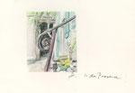 600 In der Provence (ca. 2005), 19x13 cm, Bunststift, Aquarell