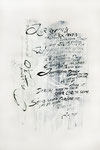 352 Variation/Das große Tao ist allgegenwärtig - Laotse (1992), 43x 59 cm, Aquarell Pinselstrich