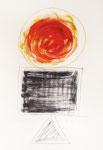 123 Zen-Symbole, plakativ (2005), 35x49cm, Tempera/Aquarell