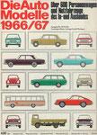 703 Katalog Automodelle 1966/67, 33x24 cm, Druck