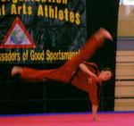 Sportformen - Andi auf den Weltspielen 2005