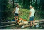 Holzarbeiten sind angesagt...