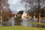 Die Entenburg in Pfohren, beinahe ein Wasserschloß