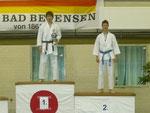 Siegerehrung Jun-Patrick Raabe