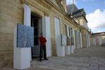 Exposition au Château Beychevelle / 2008.