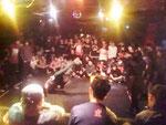2010年B-BOY バトルイベント『らぶれぼ』にて。毎回、救護班として帯同しています。