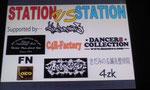 2013.4.29駅対抗クルーバトルSTATION vs STATIONをサポート。
