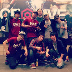 2013.4.14DANCE@LIVEクルーバトルNATをサポート。惜しくも準優勝。