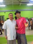 2012年4月ARTRIZ YU-JI君と
