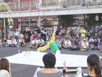 2009年 東京ダンスバカストリート。バトルシーン。