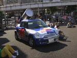 2009年 東京ダンスバカストリートにレッドブルの車が!!