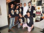 2011年 I LOVE SAITAMAにて。『オリジナルカラー』Dye君、7君、Goofy君、源元さん、イチロー君、EIJさんと。