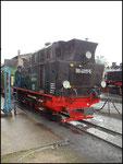 """Der """"Panzer"""" alias 99 4011, Nicht Einsatzfähig in Putbus"""