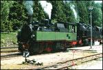 NWE 11 (heute 99 5901) in Schierke
