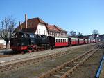 99 2324-4 bei der Ankunft in Kühlungsborn West © Maurice Ansorge