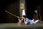 Charis Nass in: Das Mädchen mit dem die Kinder nicht verkehren durften / Foto: Kathrin Schander