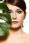 Shooting Grünpflanzen mit Model Pink Beauty und Fotograf <b>Ingo Steinert</b> - image