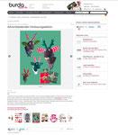 """""""Burda Style"""" Adventkalender 12/2011 - Wandtrophäe Ole das ideale Weihnachtsgeschenk für  Tierfreunde."""