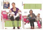 """""""Baby"""" Ausgabe Januar/Februar 2011 - auch Kuscheltier Tante Lotte ist begehrt."""