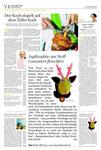 """""""Stuttgarter Nachrichten"""" Februar/2011 - Wandtrophäe Ole ein Geschenk für alle Tierfreunde."""