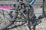 ストロングライト ヘリオン2。20年来、ほとんどの自分の自転車にフランス製のクランクを使っています。コレクションを今度ご紹介したいところです・・・・・