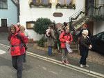 Nach der Einkehr in der Krone Waldhilsbach