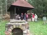 Rast an der Linsenteich- Hütte