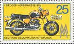 Briefmarke Leipziger Herbstmesse 1975 TS 250 25 Pfennig DDR  1975
