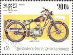 Briefmarke Ardie 1939 1,00 Riel Kampuchea (Kambodscha) 1985