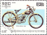Briefmarke ESKA-MOFA 1939 0,20 Riel Kampuchea (Kambodscha) 1985