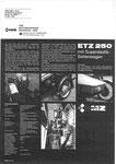 Bild: KFT 1983 Heft 11 (KFT beurteilt MZ ETZ 250 mit Seitenwagen) Rückseite