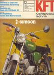 Bild: (Kraftfahrzeugtechnik beurteilt Simson S 51 B 2-4) Titelseite