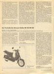 Bild: KFT 1985 Heft 12 (SR 50/80 Die neue Rollerserie aus Suhl) Seite 354