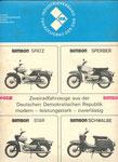 Bild: KFT 1970 Heft 02 (Rückseite: Spatz, Sperber, Star, Schwalbe)