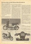 Bild: KFT 1985 Heft 10 (Die neuen Roller aus Suhl: Simson-Roller SR 50/SR 80) Seite 294