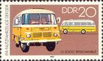 Briefmarke LD 3000 Reiseomnibus 20 Pfennig DDR 1982