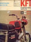 Bild: KFT 1972 Heft 03 (Beurteilung MZ ETS 150 Trophy Sport) Titelseite