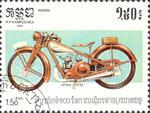 Briefmarke Jawa 1942 1,50 Riels Kampuchea (Kambodscha) 1985