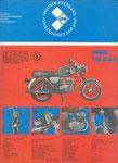 Bild: KFT 1973 Heft 04 (Technik Neuheiten TS 250, Erster Fahrbericht TS 250) Rückseite