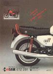 Bild: KFT 1988 Heft 08 (ETZ 251 - Das neue MZ-Motorrad) Rückseite